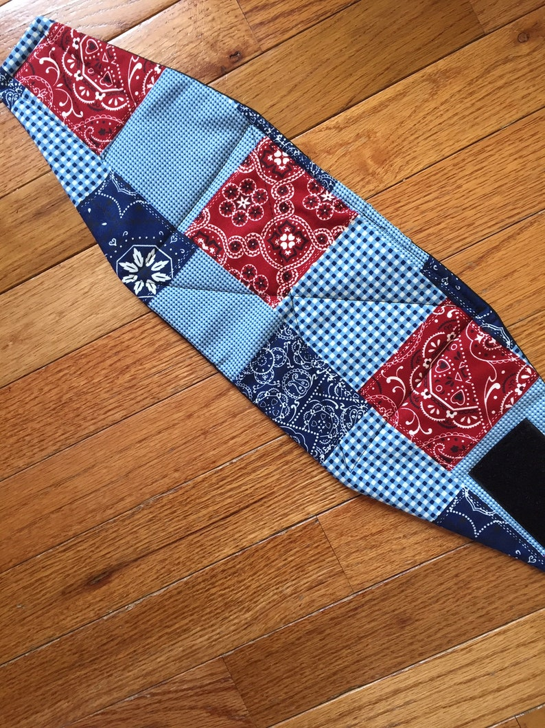 Male dog diaper-belly band-wrap-britches-quilted-BUFFALO PLAID by angelpuppi