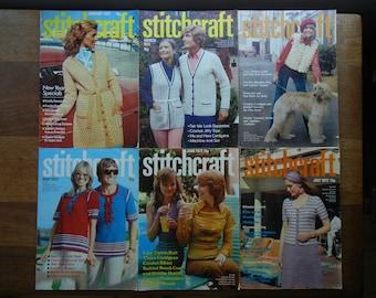 Stitchcraft Magazine ~ 1972