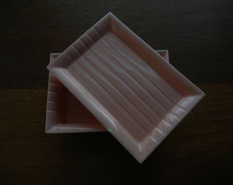 Roselane Pink Box with Lid # S 3