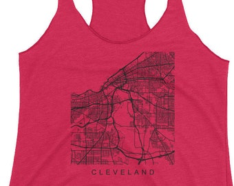 Cleveland Ohio Women's Racerback Tank