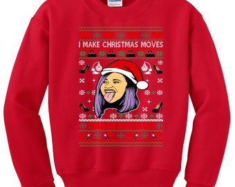 popular items for hip hop christmas sweater