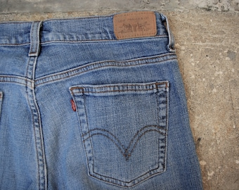 e21affa7 Vintage Levis High Waist Jeans 515 Bootcut Red Label Size 8M Red Label  Hippie-Boho-Hipster-Streetwear