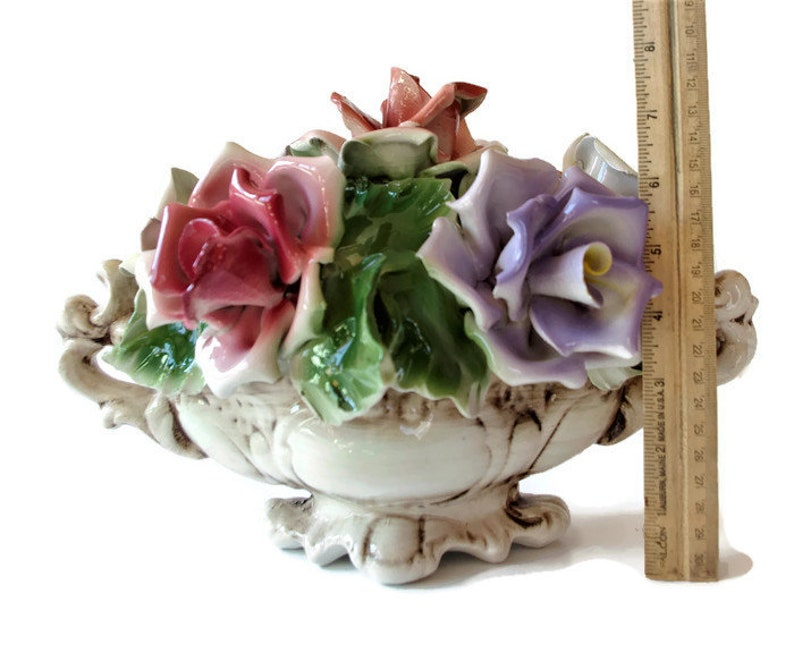 Sale Vintage Capodimonte Floral Rose Italian Porcelain Etsy,Spider Plants Roots