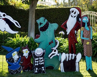 christmas edition nightmare before christmas sale reg 420 - Nightmare Before Christmas Lawn Decorations