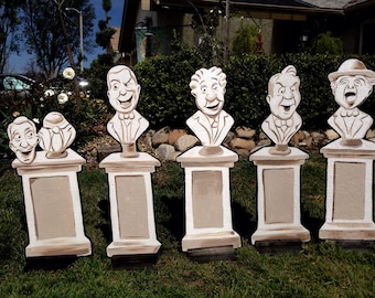 Haunted Mansion Lawn Decorations Wood Cutouts Etsy