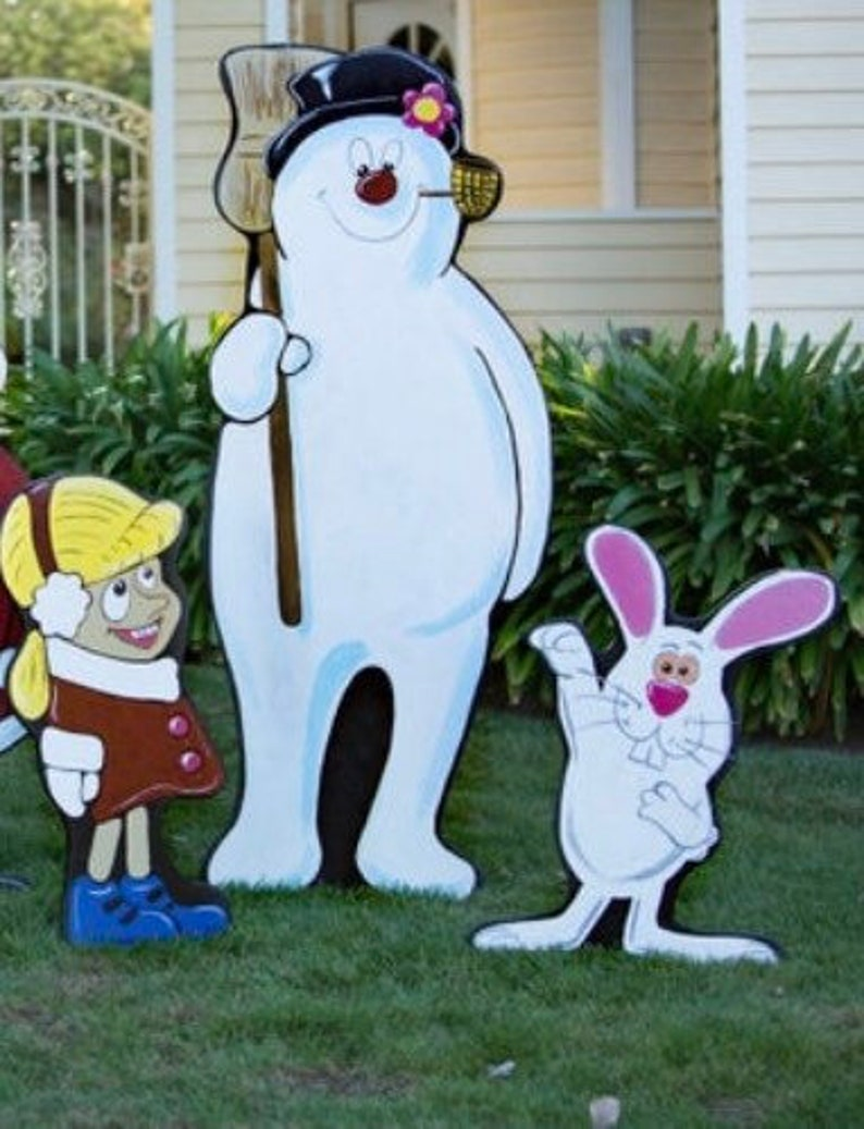 Frosty the Snowman Yard Display image 0