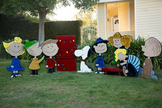Charlie Brown Christmas Lawn Decorations | Etsy