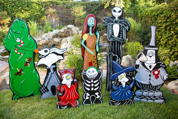 Nightmare Before Christmas Lawn Decorations Etsy,Summertime Chocolate Brown Hair Color 2020