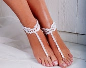 Crochet Barefoot Sandals, Foot jewelry, Bridesmaid gift, Barefoot sandles, Beach Shoes, Anklet, Wedding shoes, Beach Wedding, Summer shoes