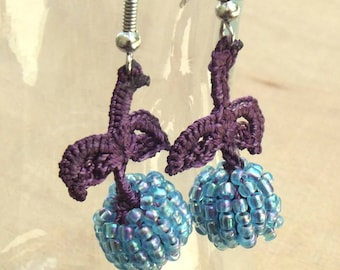 Turkish OYA Lace - Earring - Berry *5colors