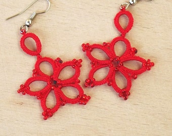 Turkish OYA Lace - Earring - SAKURA  *9 colors