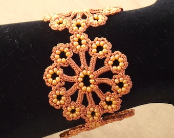 Turkish OYA Lace - Bracelet - Dahlia *13 colors