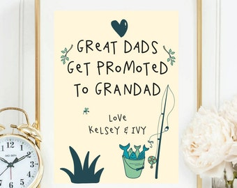 Granddad gift - Fully personalised