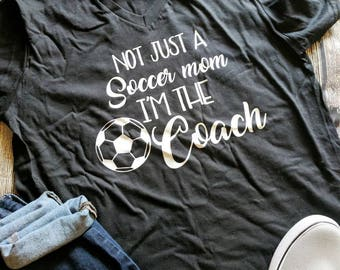 Soccer mom shirt, soccer mom shirts, soccer coach shirt, soccer coach gift, soccer ball shirt, soccer dad shirt, coach shirt, soccer love