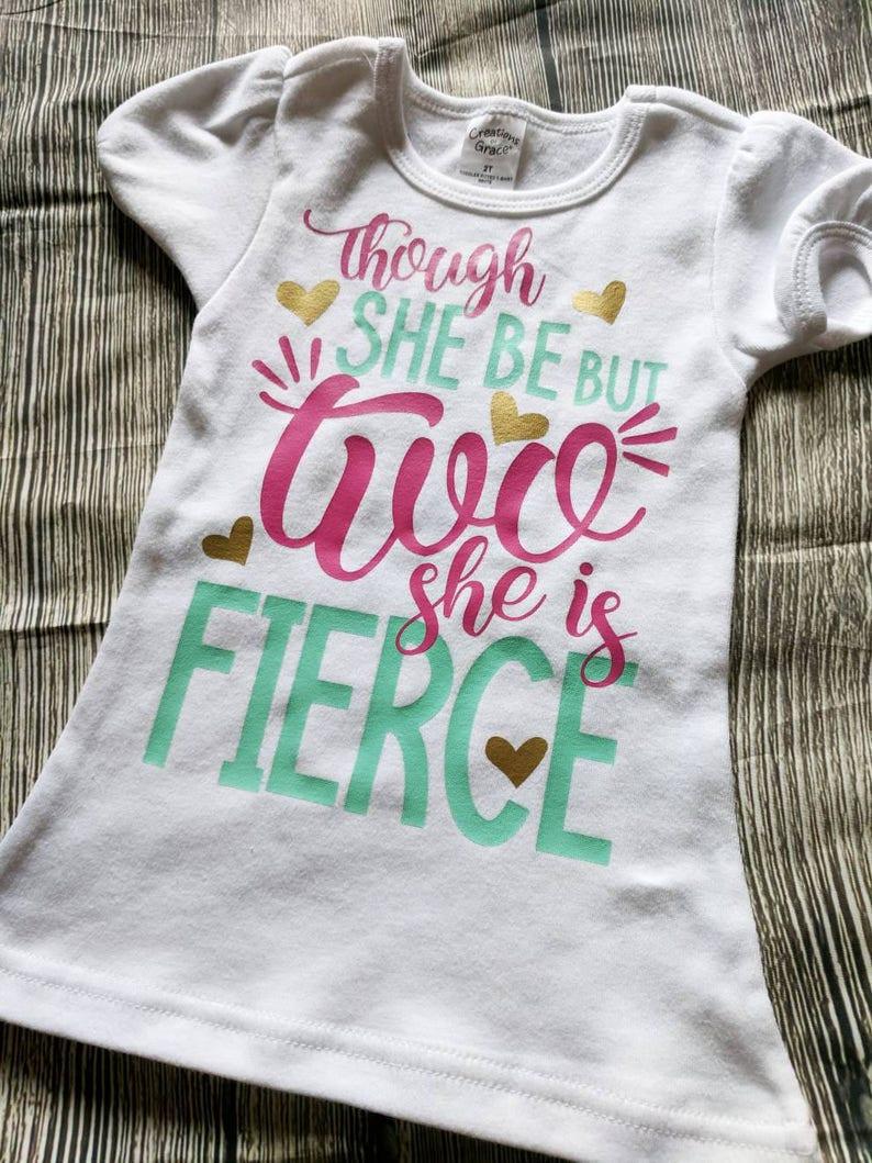 Girls Second Birthday Shirt 2nd