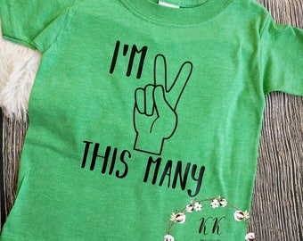 Second birthday shirt, I'm two shirt, I'm two let's party shirt, I'm this many shirt, two wild shirt, boys birthday shirt, girls birthday