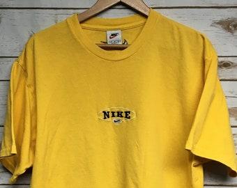 7ad89bd39585c Vintage nike shirt   Etsy