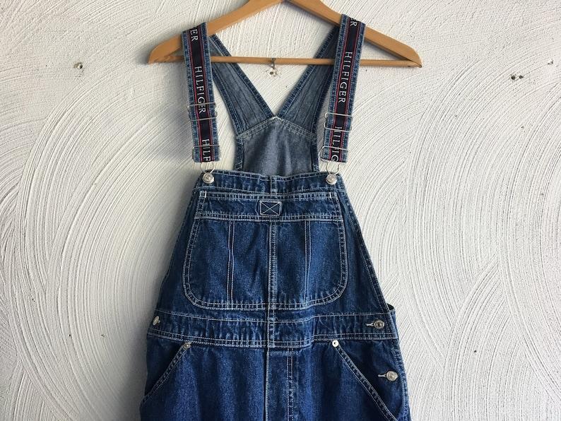 75957ed73 Vintage 90's Women's Tommy Hilfiger Overalls denim | Etsy