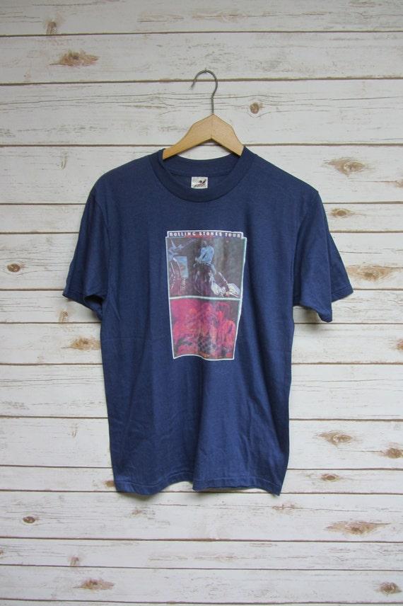 Vintage 70's Rolling Stones tour t-shirt true vint