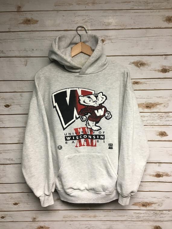 Vintage 90's University of Wisconsin Badgers hoode