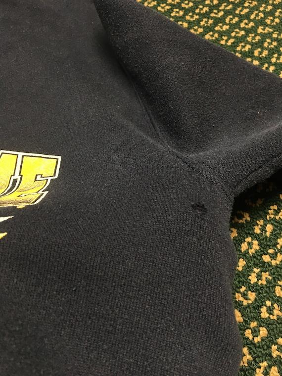 Vintage 80's 90's Notre Dame crewneck football Fighting Irish football basketball baseball crew neck sweatshirt leprechaun SmallMedium