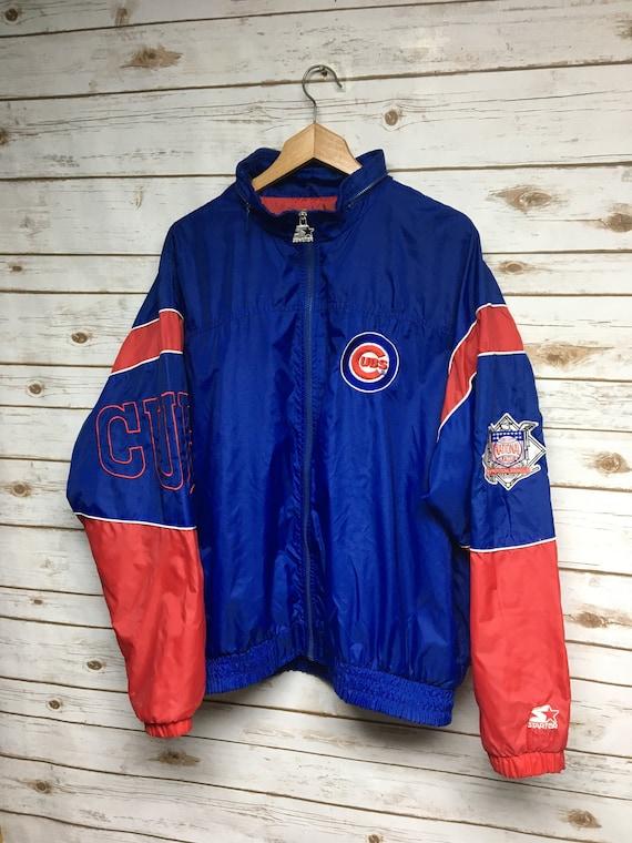 Vintage 90's Starter Chicago Cubs jacket Windbreak