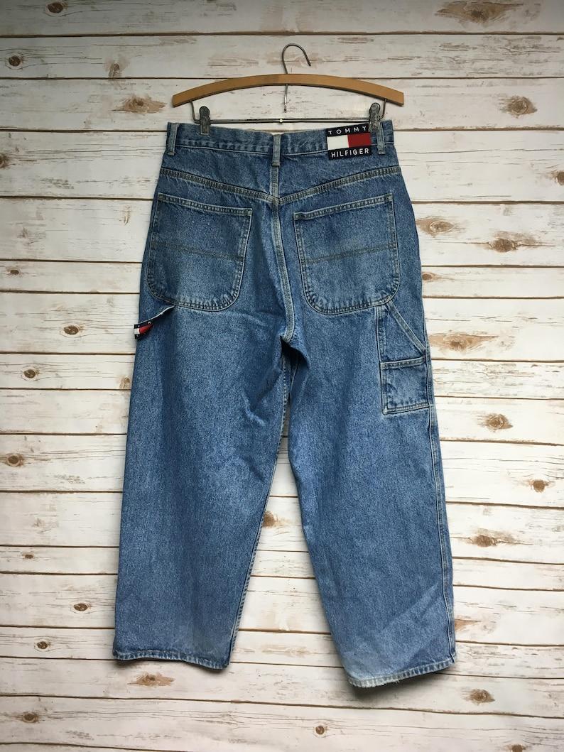 d4b2ae716 Vintage 90's Tommy Hilfiger Carpenter jeans loose fit wide | Etsy