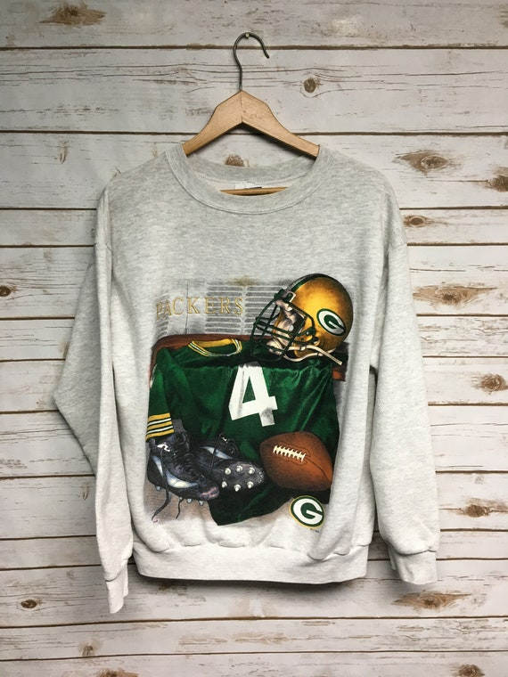 6282ceb42 Vintage 90 s Green Bay Packers crewneck sweatshirt Brett