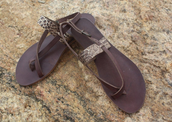 210ddac0f31237 Handmade Turkish Leather Sandal Daphne  Vera Strap Sandal