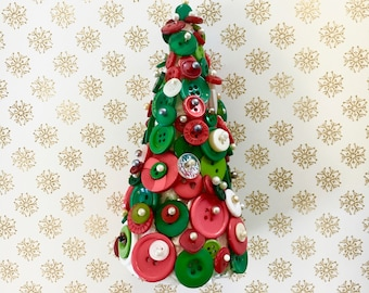 button christmas tree kit christmas craft kit decorations craft box gifts kits for adults beginners diy craft set make your own