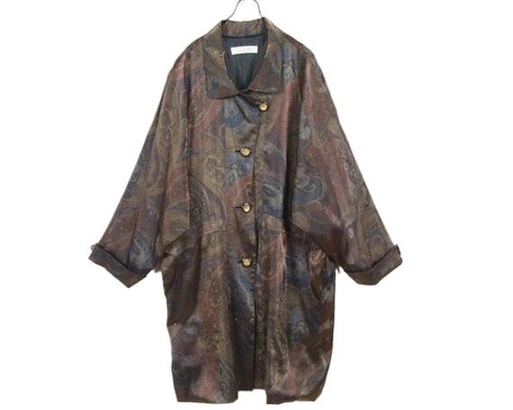 80's vintage /art dolman sleeve / coat