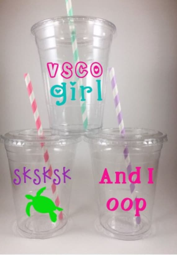 Stranger Themed Party Cups Disposable Birthday Cup Set of 12 Lids//Straws
