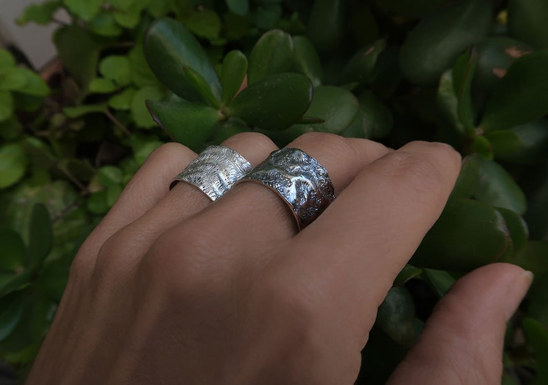 Boho Jewelry by Jewelersoul Gift for women Bohemian silver band ring Silver Labyrinth band Ring