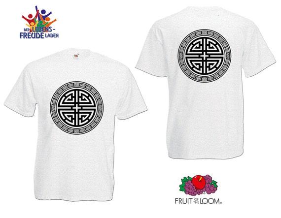 Yin   Yang Fruit of the Loom® T-Shirt Men   Etsy c64f960a46