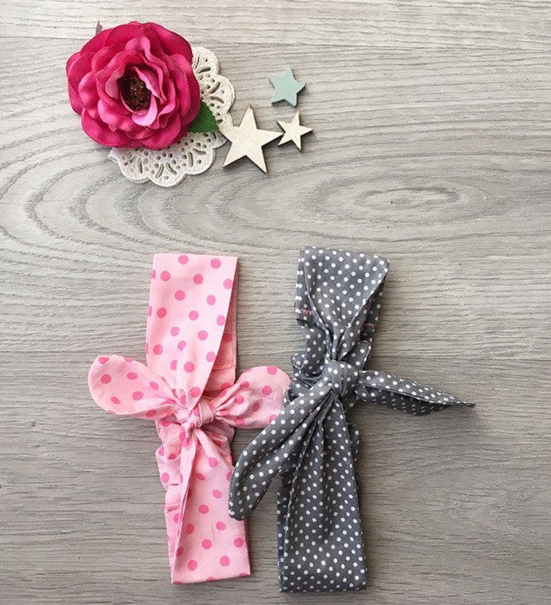 floral headband summer retro and vintage flavour Headband for woman and toddler