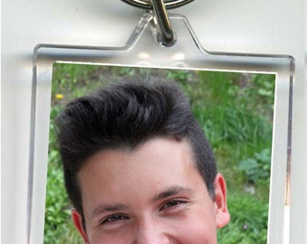 Personalised double sided photo keyring, ideal for Birthdays, great gift for everyone