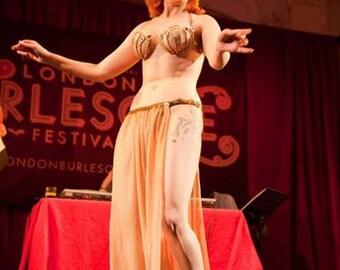 Burlesque Panel Skirt #1