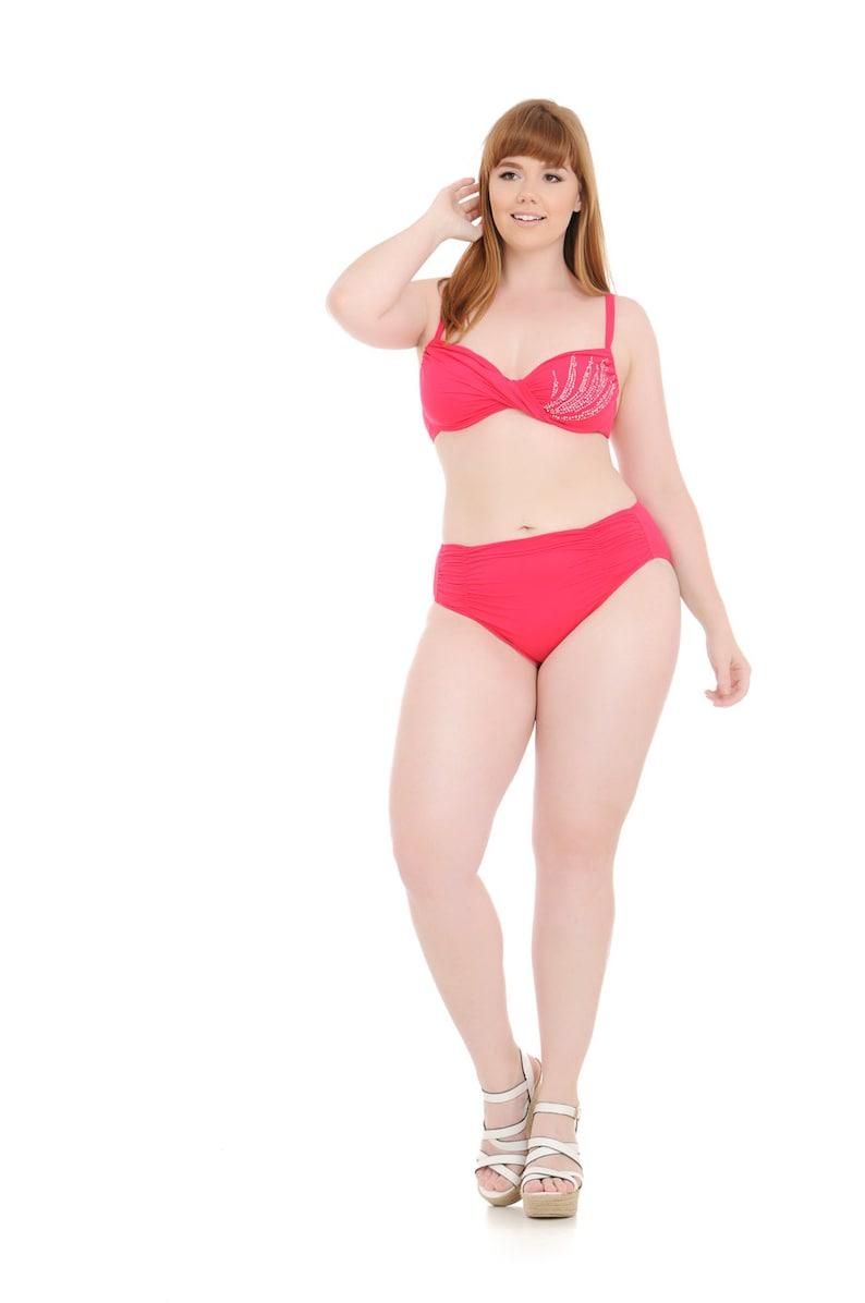 Swimwear swimsuit bikini bathing suit bathing suits women swimwear women  swimwear plus size curvy voluptuous woman curvy C cup