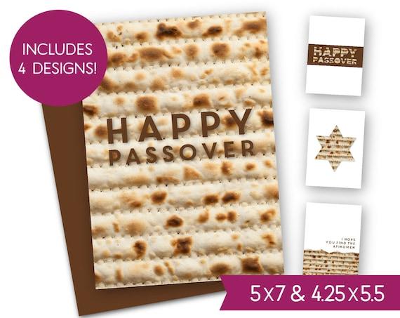 Happy passover printable card bundle pesach chag sameach etsy image 0 m4hsunfo