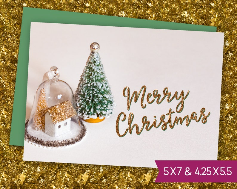photo relating to Christmas Ornaments Printable identified as Merry Xmas Ornaments Printable Card - Trainer Greeting Card, Satisfied X-Mas Snowglobe E-Card, Electronic Obtain Family vacation Card in direction of Print S1450