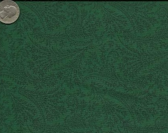 RJR Jenny Beyer Quilting Cotton Fabric Forest Paisley 126105 - 1/2 Yard