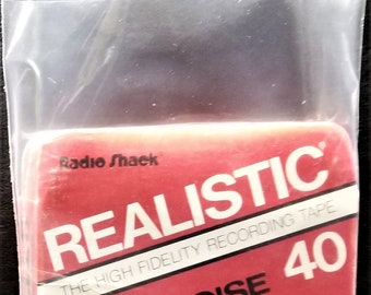 8-Track Outer Sleeves - 2.5mil Polyethylene - Poly Bag Plastic Covers 10 25 50 100