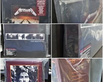 LP Box Set Outer Sleeves (1 of Each: 2XL No Flap & 4XL 5XL + Overhang) 4mil Huge Boxsets 33rpm Vinyl Record Album Poly Bag Thick Plastic