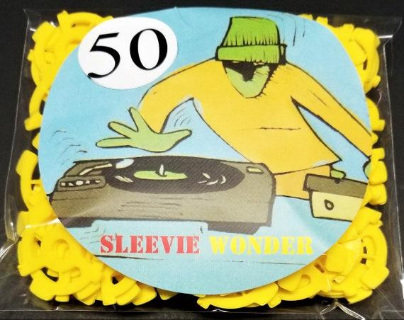"1pc PLASTIC ADAPTER INSERT for 45 RPM 7/"" RECORD SNAP VINYL DJ Vintage Jukebox"