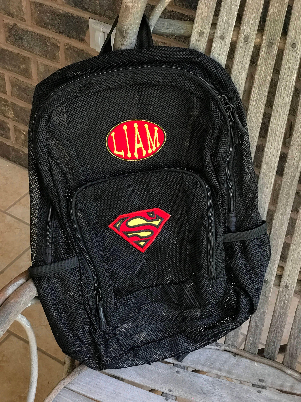8b3e014334 Superman Mesh Backpack- Fenix Toulouse Handball
