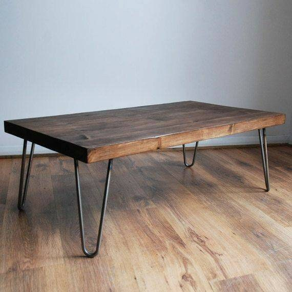 Traditional Modern Rustic Live Edge Coffee Table Organic Etsy
