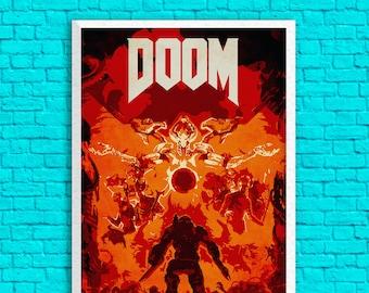 Doom - Doom Slayer 13 x 19