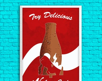 Fallout - Try Delicious Nuka Cola 13 x 19