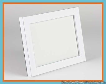 4x6 White Picture Frame 4x6 White Frame 4x6 White Photo Frame with Silver 4x6 Photo Frame 4x6 4 x 6 Picture Frames Custom Picture Frame 6x4