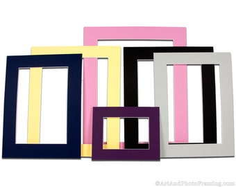Large Matboard for Picture Frame | Various Sizes | Mat Board | Photo Mat for Frame